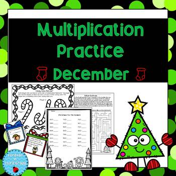 Multiplication Facts - December
