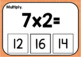 Multiplication Facts 2, 3, & 4 (Boom! Deck)