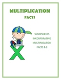 Multiplication Facts 2-9 Free