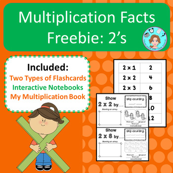Multiplication Facts: 2's – Memorization & Practice – No Prep, Print, & Go