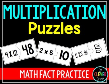Multiplication Facts Puzzles