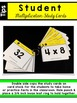 Multiplication Facts 4 Times Table