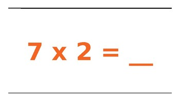Multiplication Facts 7's and Movement