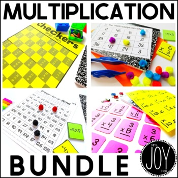 Multiplication Facts Activities Bundle