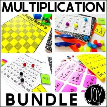 Multiplication Facts Activities Bundle