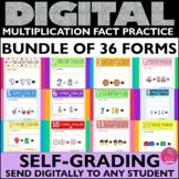Multiplication Facts Assessments BUNDLE