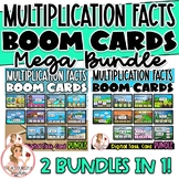 Multiplication Facts BOOM Cards MEGA BUNDLE | Digital Task Cards