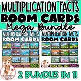 Multiplication Facts BOOM Cards MEGA BUNDLE   Digital Task Cards