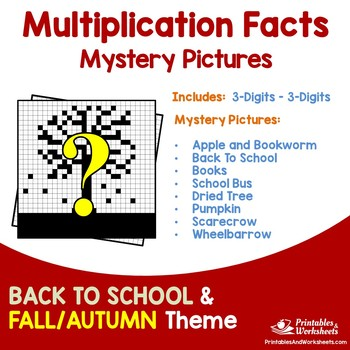 Multiplication Facts - Back To School, Fall