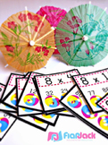 Multiplication Facts Beach Ball Poke - FREE