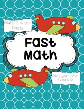 Multiplication Facts- Beat the Clock
