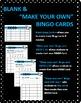 Multiplication Facts Bingo - 12s Flashcards, 30 pre-made Bingo Cards, & more!