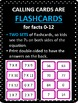 Multiplication Facts Bingo - 7s Flashcards, 30 pre-made Bingo Cards, & more!