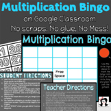 Multiplication Facts Bingo Google Classroom