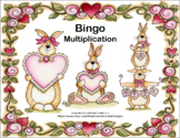 Multiplication Facts- Bingo-Valentine's Day Theme
