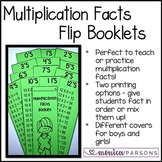 Multiplication Facts Booklet