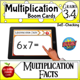 Multiplication Facts Boom Cards ™- Distance Learning and S