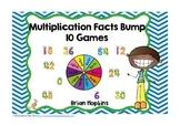 Multiplication Facts Bump Fluency