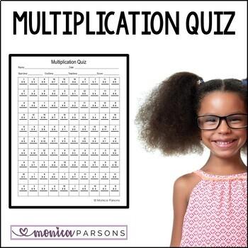 Multiplication Facts Bundle