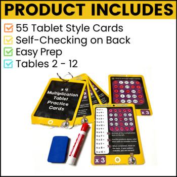 Multiplication Facts Practice Bundle