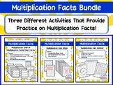 Multiplication Facts Bundle--3 Different Activities--Flash