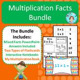 Multiplication Facts Bundle – Memorization & Practice – No
