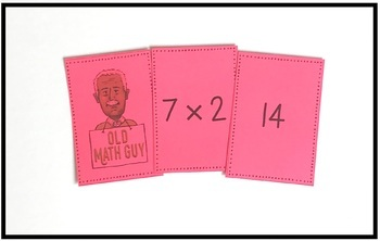Multiplication Facts (6-8) Card Game