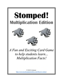 Multiplication Facts Card Game (Stomped!)