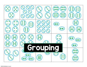 Multiplication Facts Card Sort Arrays Grouping Area Models