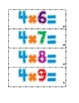 Multiplication Facts Cards Deluxe