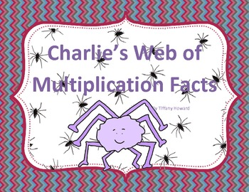Multiplication Facts: Charlie's Web of Multiplication Facts Game