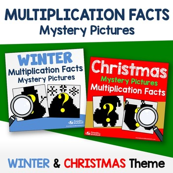 Multiplication Facts - Christmas, Winter