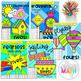 Multiplication Facts: Color by Number BUNDLE! (Products 0-10) GRADE 3