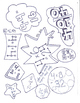 Multiplication Facts Coloring Book - graphic coloring pages