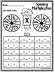 Multiplication Facts Cut and Paste Printables {Basic Facts 1 - 9}