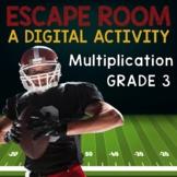 Multiplication Facts Digital Escape Room Grade 3 -- Distan
