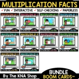 Summer Packet Distance Learning | Multiplication Facts Boo