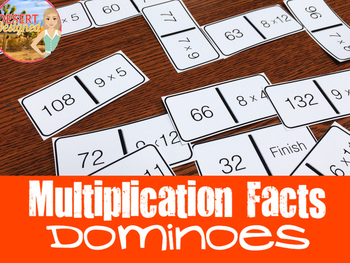 Multiplication Facts Dominoes