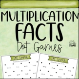 Multiplication Facts Math Centers: Dot Games