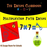 Multiplication Facts Escape Room | The Escape Classroom