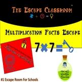 Multiplication Facts Escape Room   The Escape Classroom