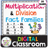 Multiplication Facts Family Math Practice Distance Learnin