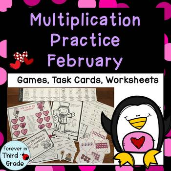 Multiplication Facts - February