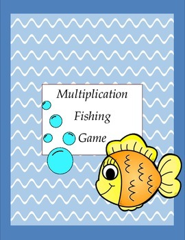 Multiplication Facts Fishing Game