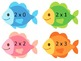 Multiplication Facts Fishing - Self-Correcting with Facts to 11