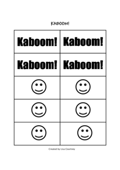 Multiplication Facts - Flash Card Game - KABOOM!
