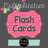 Multiplication Facts Flash Cards 0-9: Self-Checking!