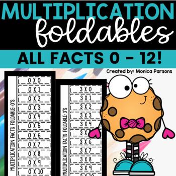 Multiplication Facts Flip Book
