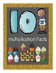 Multiplication Facts Flipbook for Grade 3: The 10s