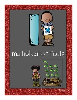 Multiplication Facts Flipbook for Grade 3: The 1s